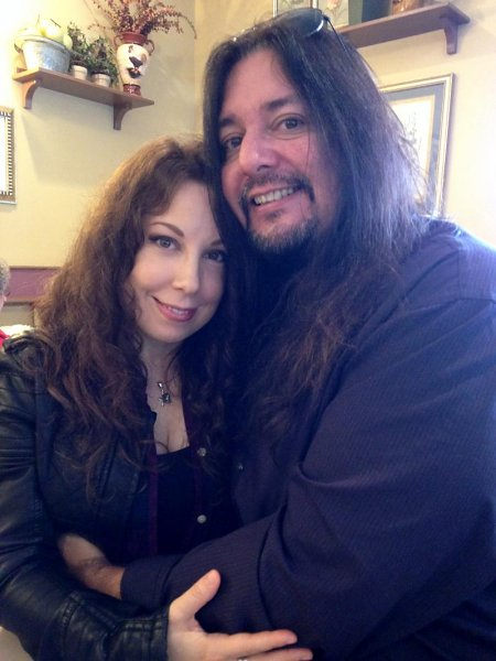 Laura Christine and Gene Hoglan