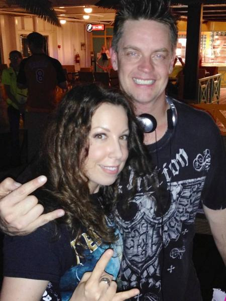 Laura Christine and Jim Breuer