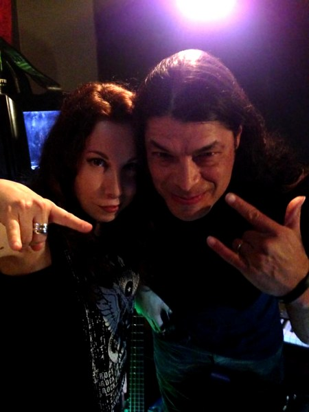 Laura Christine and Robert Trujillo