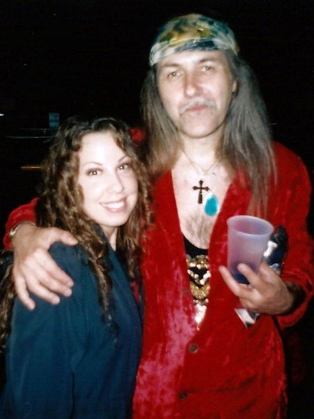 Laura Christine and Uli Jon Roth